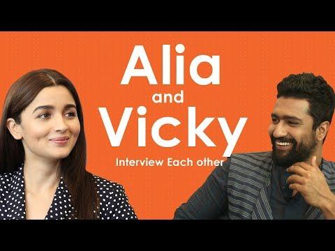 Alia Bhatt And Vicky Kaushal Interview Each Other | Candid Talks | Raazi | MissMalini thumbnail