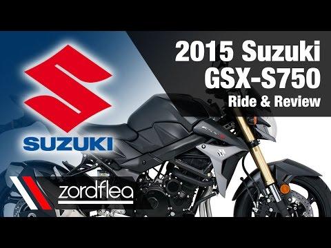 2015 Suzuki GSX-S750 - Ride and Review