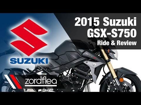 2015 Suzuki GSX-S750 - Ride And Review