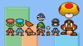 Super Mario Bros X (SMBX 1.4.4) - Goomba All Power Ups . HD