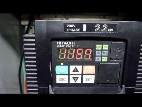 Преобразователь частоты Hitachi серия WJ200