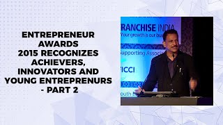 Entrepreneur Awards 2015 recognizes