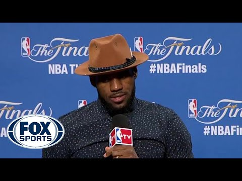 LeBron James speaks after depleted Cavs fall in the Finals