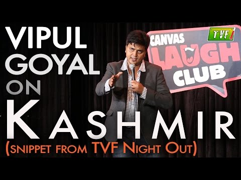 Tvf Live Show - Vipul Goyal On Kashmir Qtiyapa video