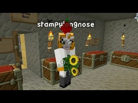 Minecraft - Race To The Moon - Stampy Returns?! [16]