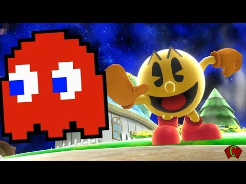 Super Smash Bros 4: Pac-Man + Game & Watch @ E3 2014 Trailer (WII U / 3DS Gameplay) 【All HD】