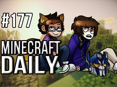 Minecraft Daily | Ep.177 | Ft. ImmortalHd | Throwing Spears at Immortal!