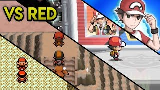 Evolution of Pokemon Trainer Red Battles (2000 - 2017)