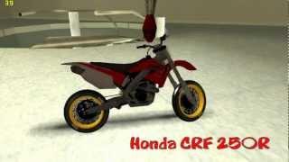 GTA San Andreas || Honda CRF 250R Supermoto || Mods* || HD