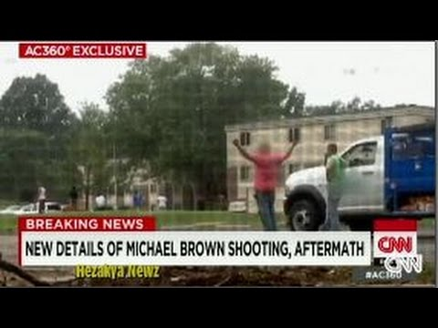 NEW VIDEO Shows 2 WHITE Witnesses In The AFTERMATH Of Michael Brown SHOOTING!!