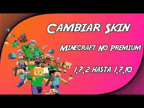 Cambiar Skin Minecraft 1.7.10 Free En Español