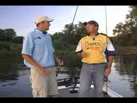 HuntFish Tv Fishing Mississippi River Pool 8 Bass Action