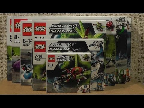 NOWOŚCI STYCZEŃ 2013 LEGO GALAXY SQUAD
