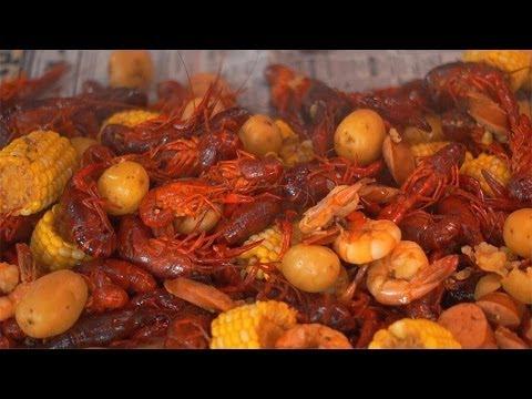 Crawfish and Shrimp Boil