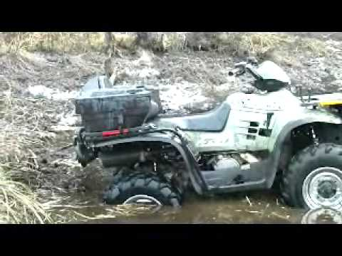 Polaris and Yamaha 4 wheeler fun!