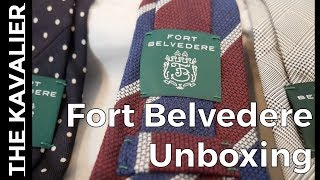 Fort Belvedere Unboxing - Socks, Ties, Pocket Square and Lapel Flower
