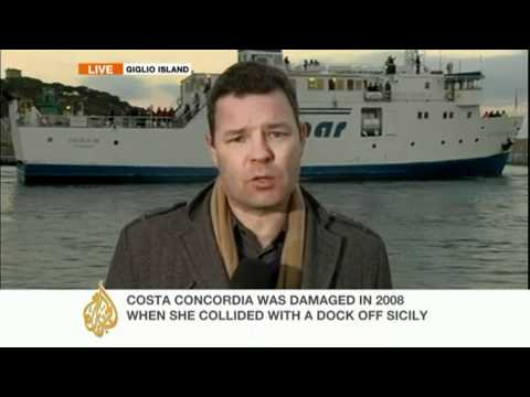 Paul Brennan reports on the Costa Concordia