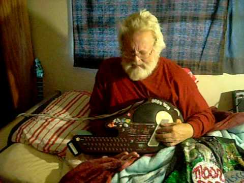 moondog playing let it be on qchord