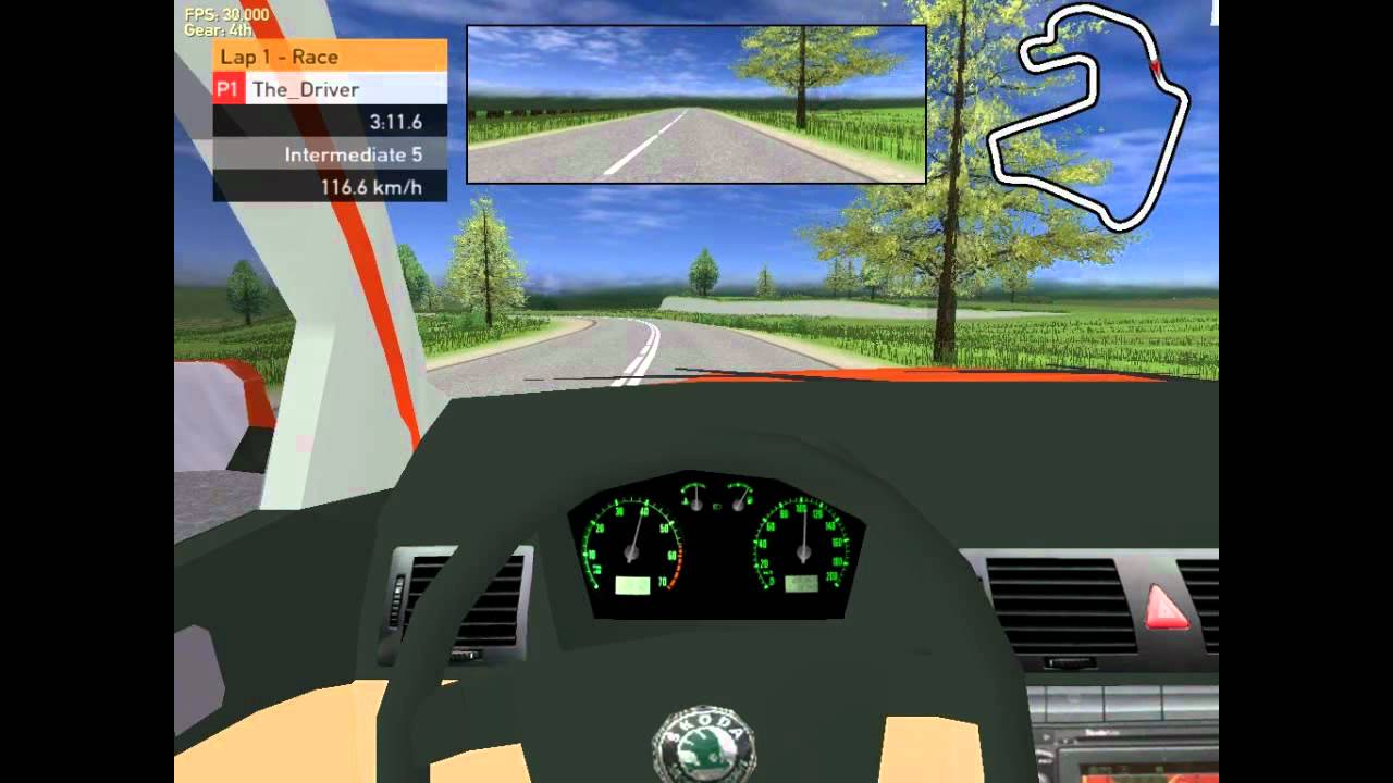 Racer Free Car Simulation Test Skoda Fabia 2 0 At Summer
