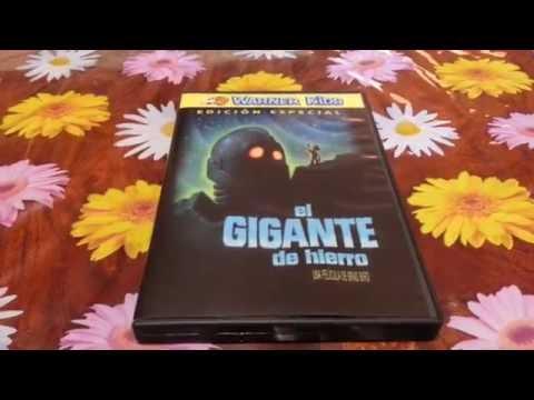 Análisis Review Y Unboxing De El DVD De El Gigante De Hierro The Iron Giant Edición Especial