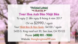 QC 20170124  Thang Long Travel  Tour Nhat Ban