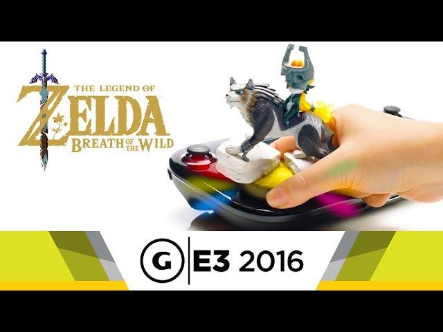 Wolf Link Amiibo E3 2016 Trailer - The Legend of Zelda: Breath of the Wild