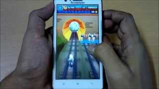 Subway Surfers on Lenovo A536 - Gameplay