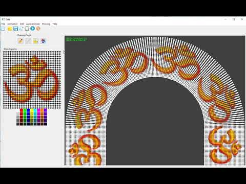 Pixel LED Arch Gate Design Software in PROGRESS