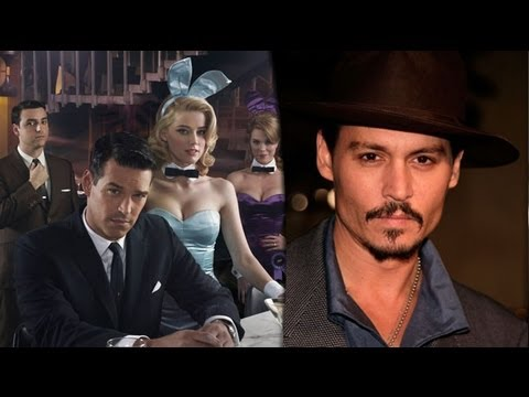 Johnny Depp Apologizes for Rape Comment & NBC Cancels The Playboy Club