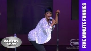 Sommore⎢Rap music is a fantasy you can not live!⎢Shaq's Five Minute Funnies⎢Comedy Shaq