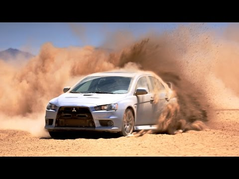 2014 Mitsubishi Lancer Evolution - Impromptu Rally Driving