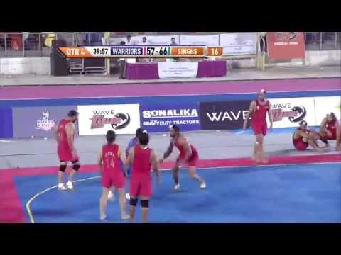 World Kabaddi League, Day 23: Khalsa Warriors Vs. United Singhs