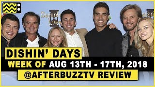 Days Of Our Lives for August 13th - August 17th, 2018 Review & After Show - Dishin' Days