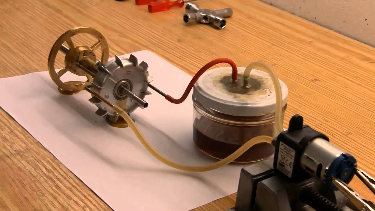 How To Build A Mini Jet Engine At Home