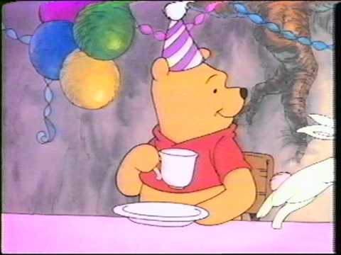 Pooh Vhs uk Pooh Pooh Party 1994 Vhs