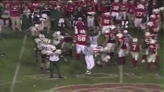 Jonathan Vilma CRUSHES Ben Zajicek on a Reverse in the '01 Rose Bowl