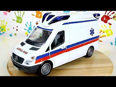 Ambulance Karetka Pogotowia Emergency Van Samochód Ratunkowy Dickie 3313918
