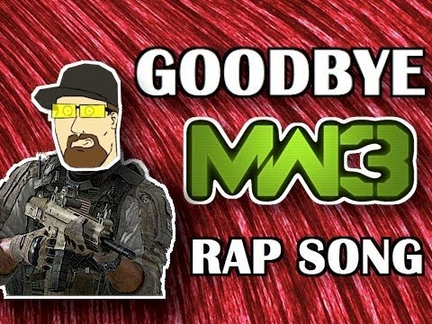 GOODBYE MW3 - RAP SONG / MONTAGE