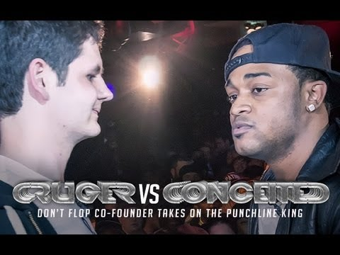 DON'T FLOP - Rap Battle - Conceited Vs Cruger