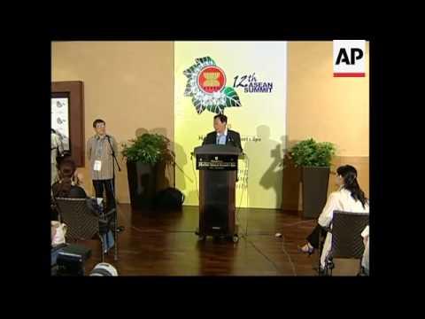 ASEAN FMs meet, discuss terrorism, after bomb blasts kill 7