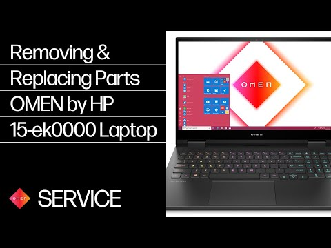 Removing & Replacing Parts   OMEN by HP 15-ek0000 Laptop PC   HP Computer Service   @HPSupport