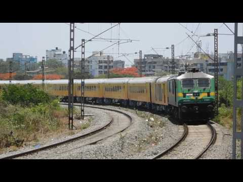 Mumbai - Goa Tejas Express   First Tejas Express of Indian Railways   Luxurious High Speed Train thumbnail