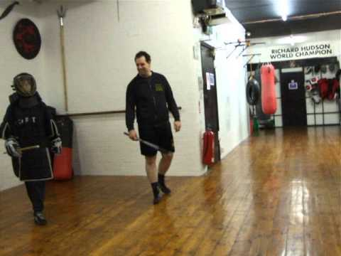 Male Vs Female Full Contact Eskrima Kali Arnis Stickfighting .Kickfit Martial Arts Academy,Notts,UK Image 1