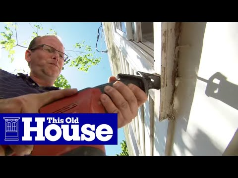 How to Replace a Rotted Windowsill - This Old House