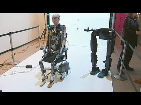Bionic man goes on display at London's Science Museum