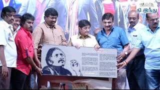 Parthiban pays Tribute to the Legendary Filmmaker Rudhraiya | Tihar Audio Launch
