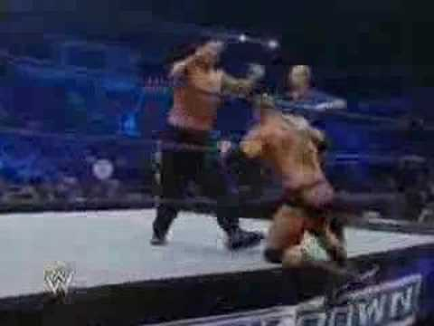khali vs batista Video