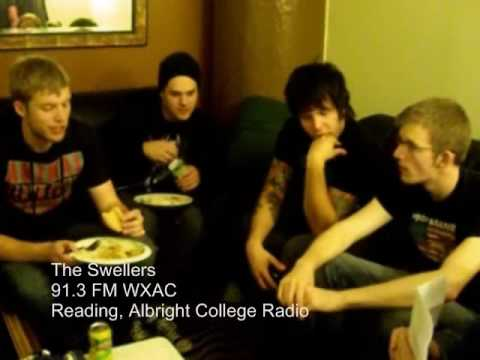 Gabby and Marie interview The Swellers on October 17th at The Electric Factory. Listen to WXAC live: http://www.albright.edu/wxac Band's Myspace: http://myspace.com/theswellers.