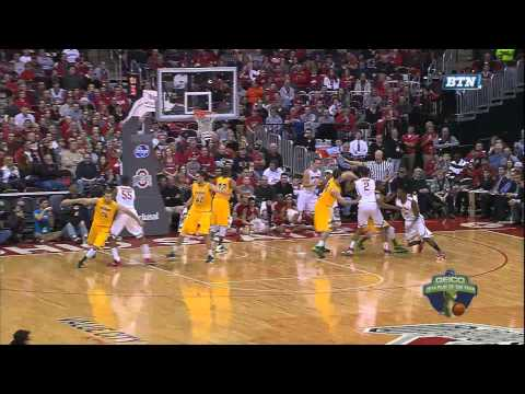 With under 10:20 left in the game and the Buckeyes leading North Dakota State 41-57, Ohio State's Sam Thompson took an inbound pass from teammate Aaron Craft...