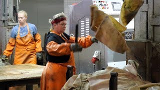 The Tricanter® for Processing of Limed Fleshing in Tanneries